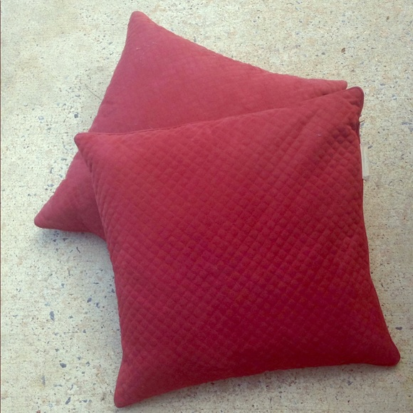Jcpenney Other Russet Throw Pillows Set Of Two From Jcp Poshmark Gorgeous Jcp Decorative Pillows